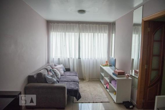 Apartamento No 1º Andar Com 2 Dormitórios E 1 Garagem - Id: 892950681 - 250681