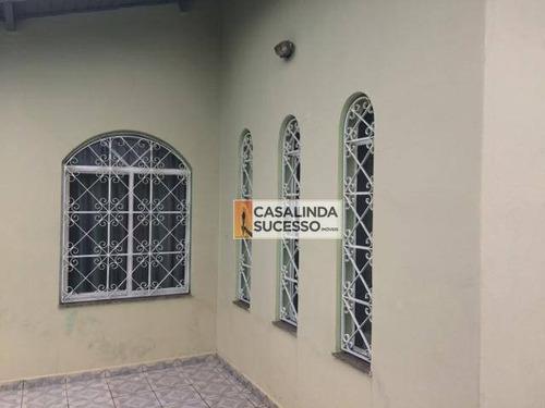 Terreno Com 2 Casas 194m² 2 Dormts 2 Vagas Próx. Av Dalila - Ca6044 - Ca6044