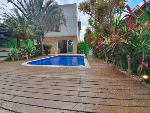 Casa Com 3 Dormitórios À Venda, 183 M² Por R$ 1.190.000,00 - Granja Viana Ii - Cotia/sp - Ca3295