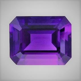 Ametista Poder E Equilibrio Cor Violeta Corte Octagonal