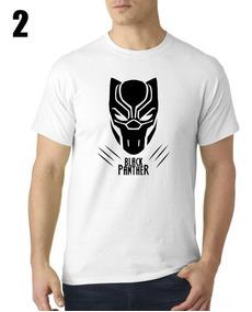 Camiseta Sublimada Black Panther / Pantera Negra