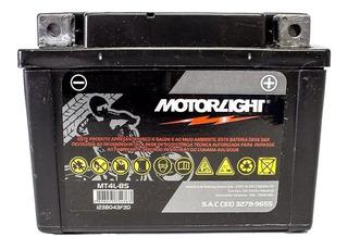 Bateria P/ Moto Motorlight 4a Honda Titan/fan 125cc 00/08