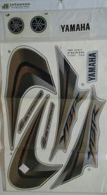 Kit Adesivo Yamaha Ybr 125 Ano 2007 Preta