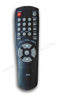 Control Remoto Para Tv Samsung Smart Tv Alternativo Aa59