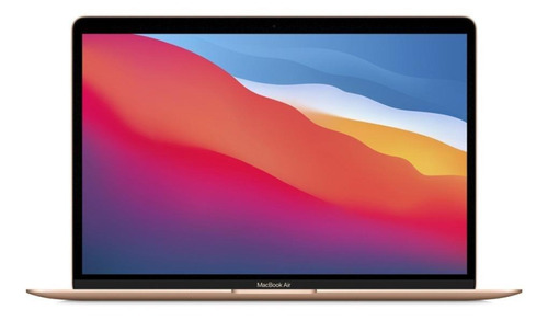 "MacBook Air A2337 oro 13.3"", Apple M1  8GB de RAM 256GB SSD, Apple GPU 2560x1600px macOS"