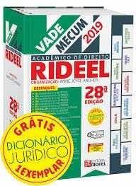 Vade Mecum Rideel 28ª Ed 2019.1 Com Dicionário
