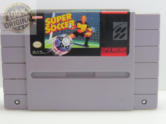 Cod 159 Super Soccer Original Snes Cartucho Fita