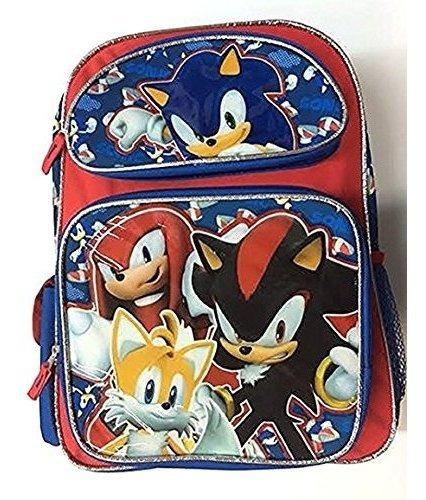 Sonic Team Tail, Shadow, Knuckles 16 Mochila Grande