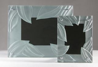 Portaretrato De Cristal Moderno Nature 30 X 24 Cms.