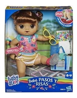 Baby Alive Pasos Y Risas Hasbro - Frases - Ilumina Sus Pies