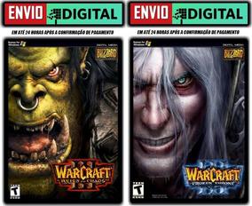 Warcraft 3 + Expansão - Legendados - Pc - Envio Digital