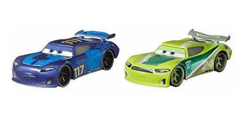 Imagen 1 de 6 de Disney Pixar Cars Spikey Fillups Y Chase Racelott 2-pack De