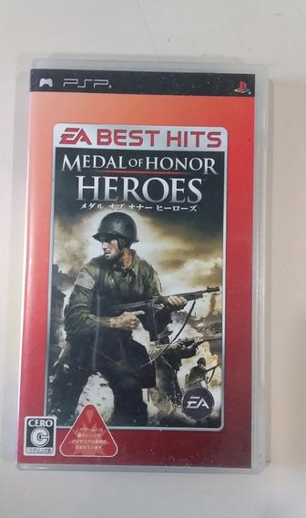 Jogo Psp Medal Of Honor Heroes Frete Grátis