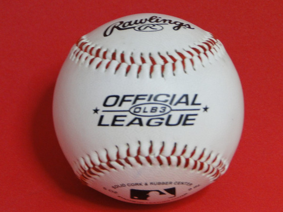 03 Bolas Baseball Rawlings Official League Pesadas
