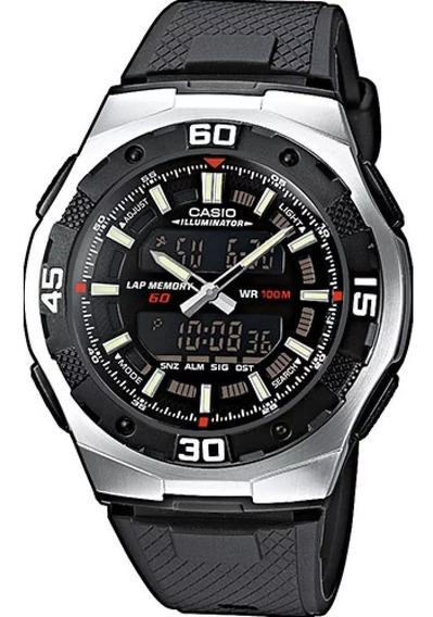 Relógio Masculino Analogico Digital Casio Aq-164w-1avdf