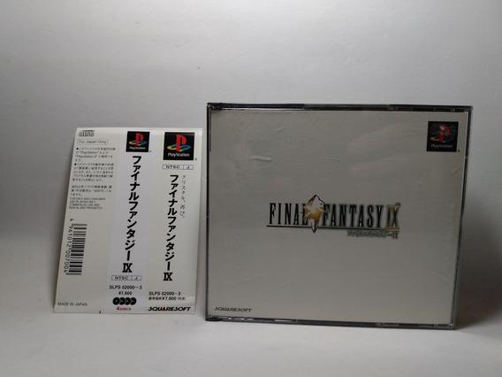 Final Fantasy Ix 9 - Ps1 - Original Japonês
