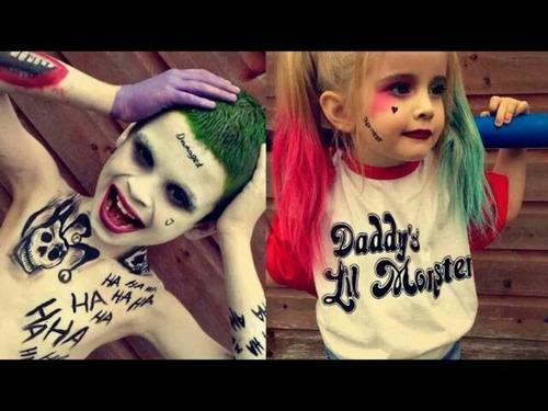Pintura Para El Cabello Joker O Harley Quinn - $ 200.00 en ...