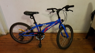 Bicicleta Niño Philco Patio Rodado 20 -6 Vel. Poco Uso