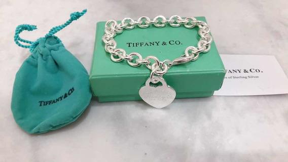 Pulseira Tiffany Prata 925