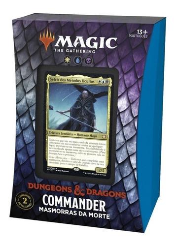 Imagem 1 de 8 de Deck Commander D&d Magic The Gathering Masmorras Da Morte