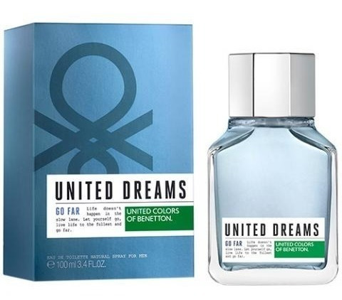 United Dreams Go Far 100ml Masculino + Amostra De Brinde