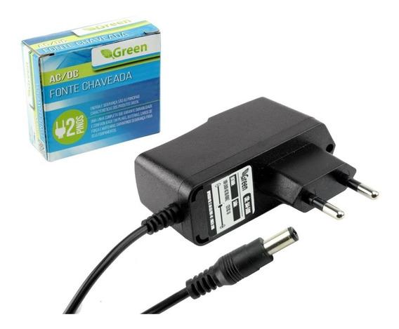 Fonte Chaveada 12v 500ma Plug 5,5mm X 2,1mm