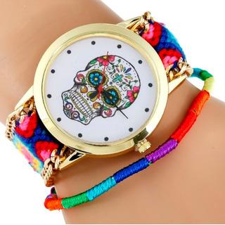 Reloj Mujer Katrina Tejido - Azul