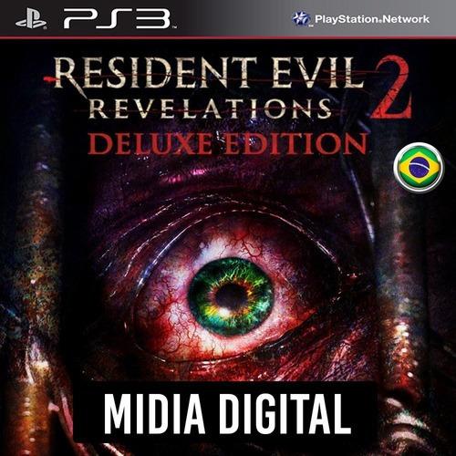 Ps3 Psn* - Resident Evil Revelations 2 Deluxe + Dlcs*