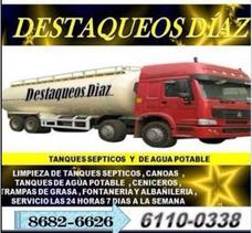 Destaqueos Diaz Sépticos Tuberías Drenaje Limpieza8682-6626