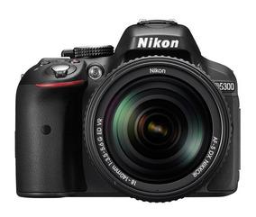 Câmera Digital Dslr Nikon D5300 Sensor Cmos Dx 24.2mp 18-55m