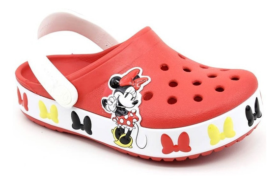Crocs Crocband Minnie Mouse Vermelho