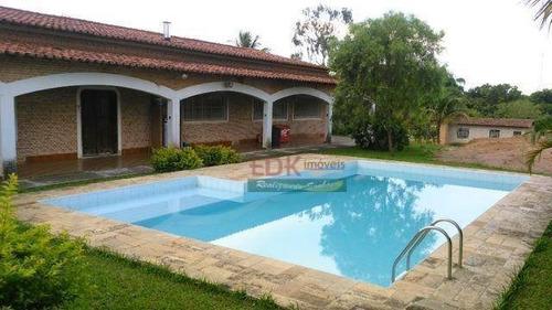 Imagem 1 de 7 de Chácara Com 4 Dormitórios À Venda, 10000 M² Por R$ 1.695.900,00 - Cidade Nova - Pindamonhangaba/sp - Ch0221