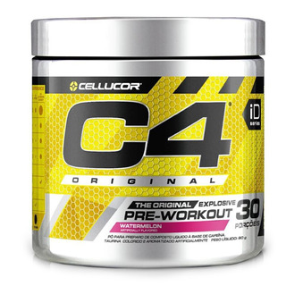 C4 Pre Workout 90g Green Apple