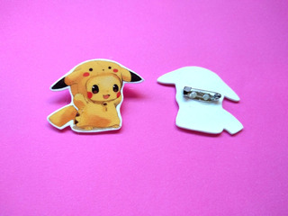 Prendedor Pokemon Anime Pikachu Cute Tierno Pin