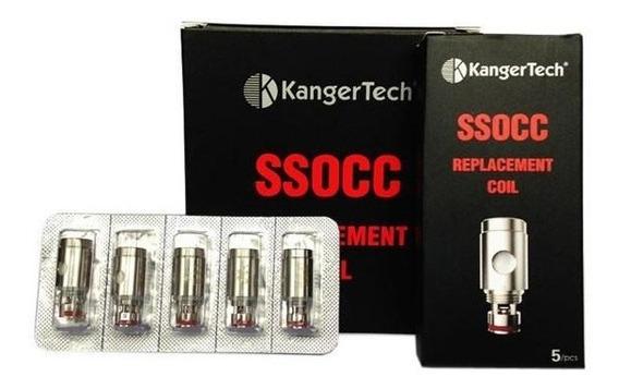 Resistencia Coil Bobina Kanger 0.5 Ohm Ssocc Subtank Cx C/5