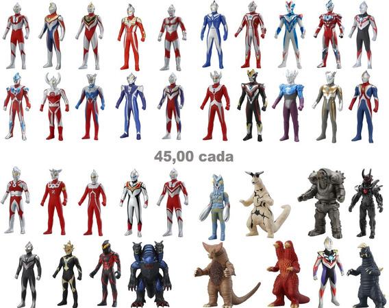 Ultraman Ultra Hero Monster 500 Serie Boneco Original Bandai