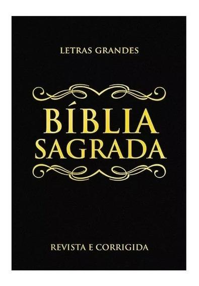 Bíblia Sagrada Letras Grandes, Revista E Corrigida