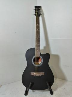 Guitarra Acústica Con Corte Acabado Mate Envio Gratis.