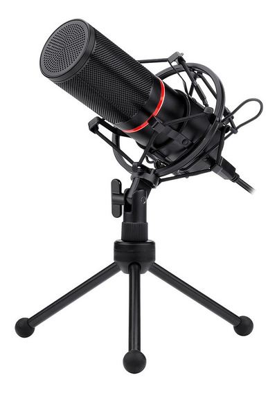 Microfone Gamer Profissional Redragon Blazar Gm300