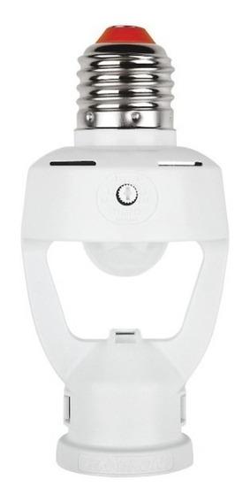 Sensor De Presença P/lâmpada C/fotocelula Iluminação Automat