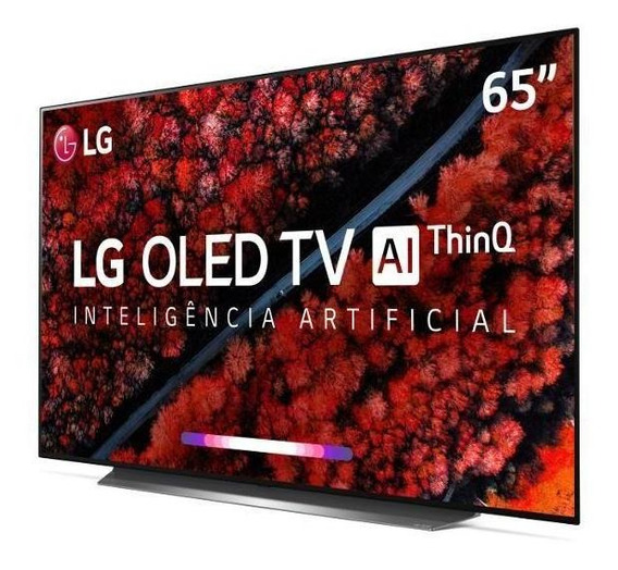 Smart Tv Lg 65 Oled Uhd 4k Controle Smart Magic Oled65c9psa