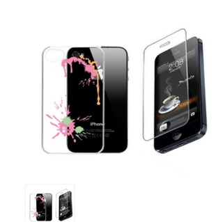 Capa+pelí P/ iPhone 4/4s G-cube Gpps-4p Acrílico P Seplash