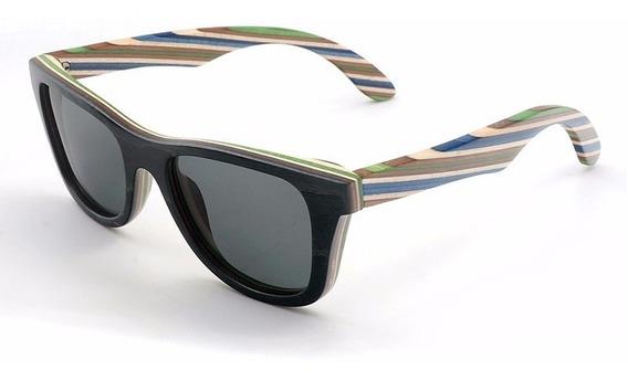 Óculos De Sol Unissex Bobo Bird De Madeira