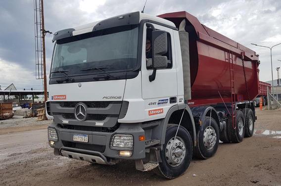 Camion Mercedes Benz Actros 4141 8x4 Todo Terreno