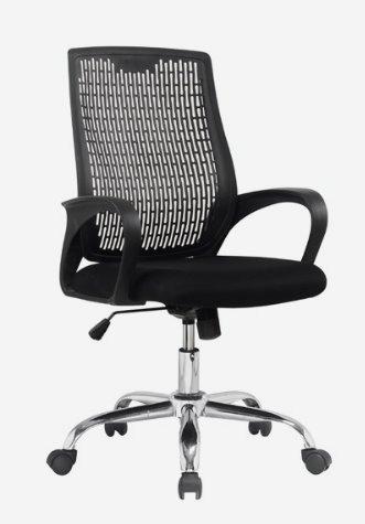Cadeira Escritório Presidente Giratoria Preta