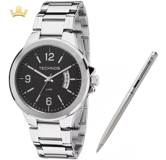 Relógio Technos Masculino 2115ksk/1p + Brinde Caneta Crown