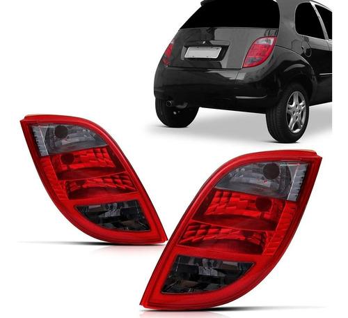 Lanterna Ford Ka Hatch Fumê 2003 2004 2005 2006 2007