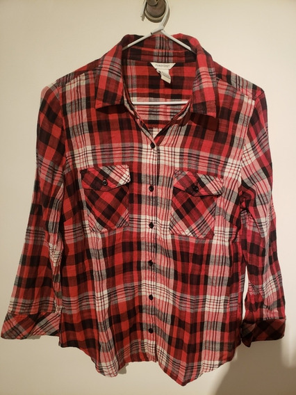 Camisa Forever 21 Mujer Cuadros