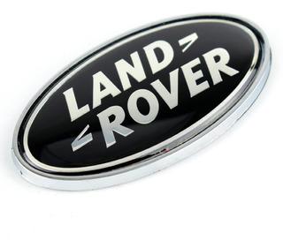 plantilla emblema de letras plateadas RNR Letras de Land Rover