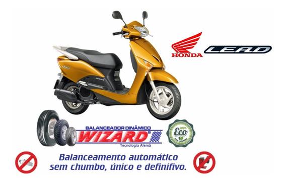 Balanceamento Dinâmico Sem Chumbo Scooter Honda Lead 110